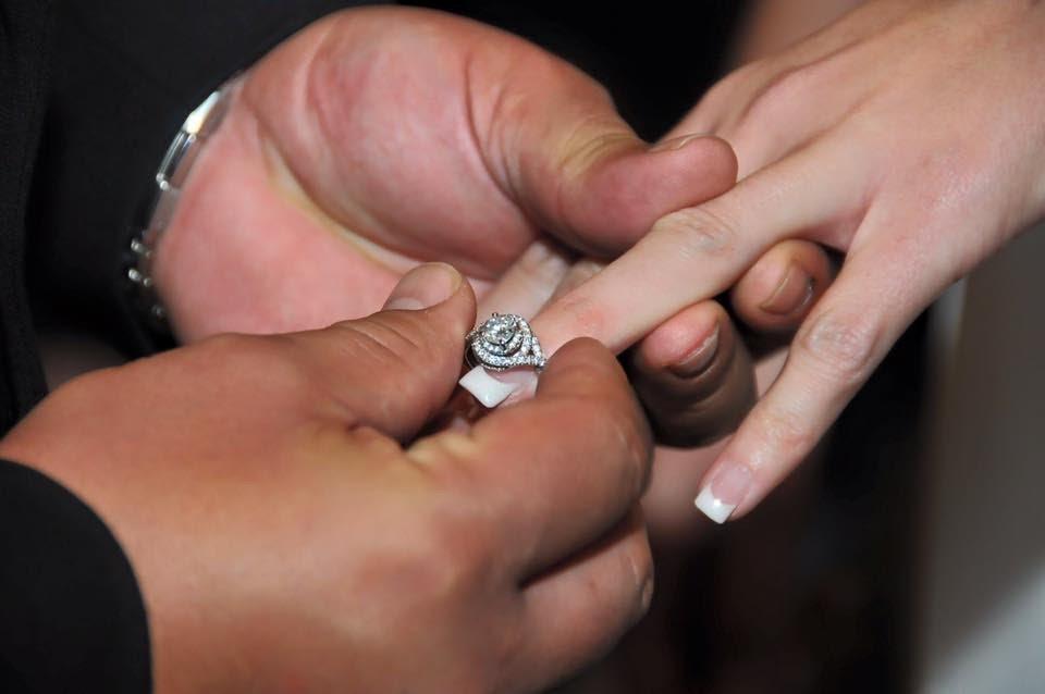 April wedding ring